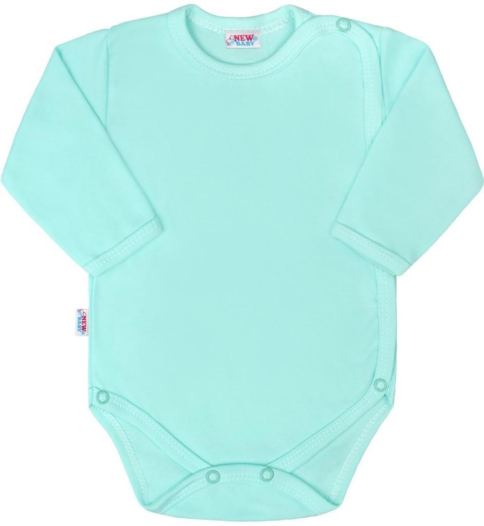 fb8334399b92 Filtrovanie ponúk NEW BABY Dojčenské body celorozopínacie New Baby Classic  II mätové Mätová - Heureka.sk