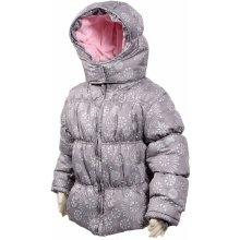 Bugga dievčenská zimná bunda s podšívkou sivá