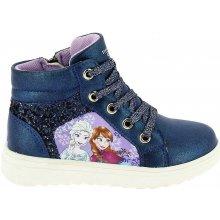 Disney by Arnetta Dievčenské členkové tenisky Frozen modré b2ff380ae4a