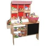 4db38c0d6 Janod Drevený obchod s pokladňou váhovou ovocím a zeleninou od 99,90 ...