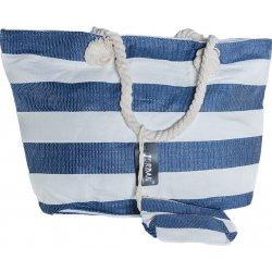 8b917f9103 Jordan collection plážová taška Široké Modré Biele Pruhy alternatívy ...
