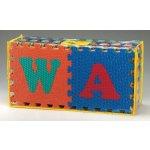 LEE HFM929N štvorcové penové puzzle ABC Abeceda 13mm