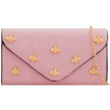 7c55713d6b dámska listová kabelka so zlatým vzorom múch K-T2260 púdrová