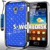 Zadný kryt Samsung Galaxy Ace 2 - Chrome Diamant tmavo-modrá