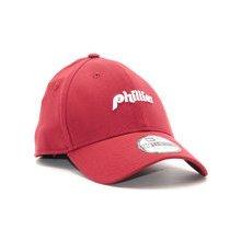 New Era Mini Word Mark Philadelphia Phillies 39THIRTY Red Stretchfit  červená   bílá   červená 27b0fbcec5