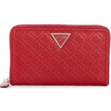 0dd9867017 Guess Peňaženka Lyra Logo Passport Case červená