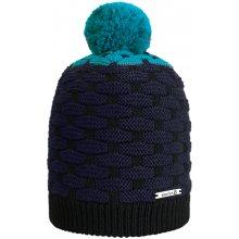 3c96b09f6 Salomon zimná čiapka Poly Black/Water/Blue