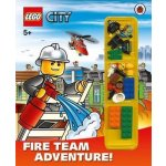 LEGO City: Fire Team Adventure! Storybook with LEGO Minifigures and Accessories