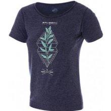 dc08345384e9 Brubeck Dámské tričko Outdoor wool Námořní modř