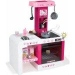 SMOBY 24371 Hello Kitty kuchynka Cheftronic so zvukom a svetlom s 19 doplnkami tmavoružová
