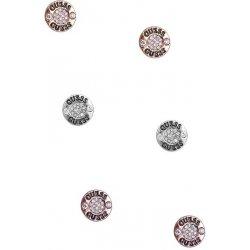 9778b0d45 Guess náušnice Tri-tone Logo Button Stud Earrings Set P276086810A ...
