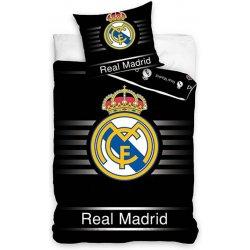 583ef27739463 Carbotex Obliečky Real Madrid čierná bavlna 140x200 70x80 ...