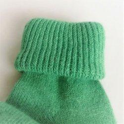 Merino detské ponožky Zelená od 2 981e2c49a7