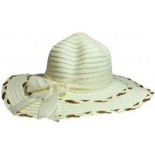 fa315ccca Jenifer SK-1420CREAM Dámsky slamený klobúk s mašľou krémový