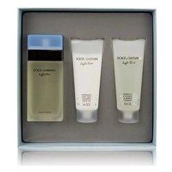 Dolce & Gabbana Light Blue EdT 100 ml + sprchový gél 100 ml + telové mlieko 100 ml darčeková sada