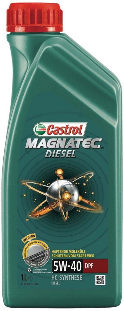 Castrol Magnatec Diesel 5W-40 DPF 1 l - 0