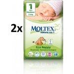 MOLTEX Newborn 2-4 kg 46 ks