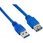 4World 08954 USB 3.0 AM-AF 1.5m, modrý