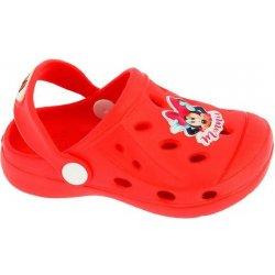 Disney by Arnetta Dievčenské sandále Minnie červené alternatívy ... d38c606cbc2