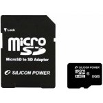 Silicon Power microSDHC 8GB class 4 SPMSDHCC48GB