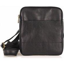 talianska pánska kožená taška 6888 čierna 53a5dad6cc4