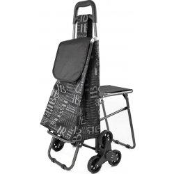2ec3b783252ae Rhino Bag, YY150-Black Nákupná taška na kolieskach so stoličkou ...