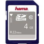 Hama SDHC 4GB class 10 104365
