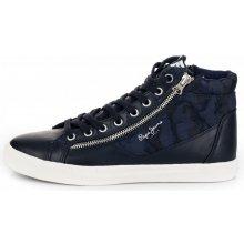 30c82f584b9 Pepe Jeans pánské kotníčkové tenisky Marton Boot 43 tmavo modrá