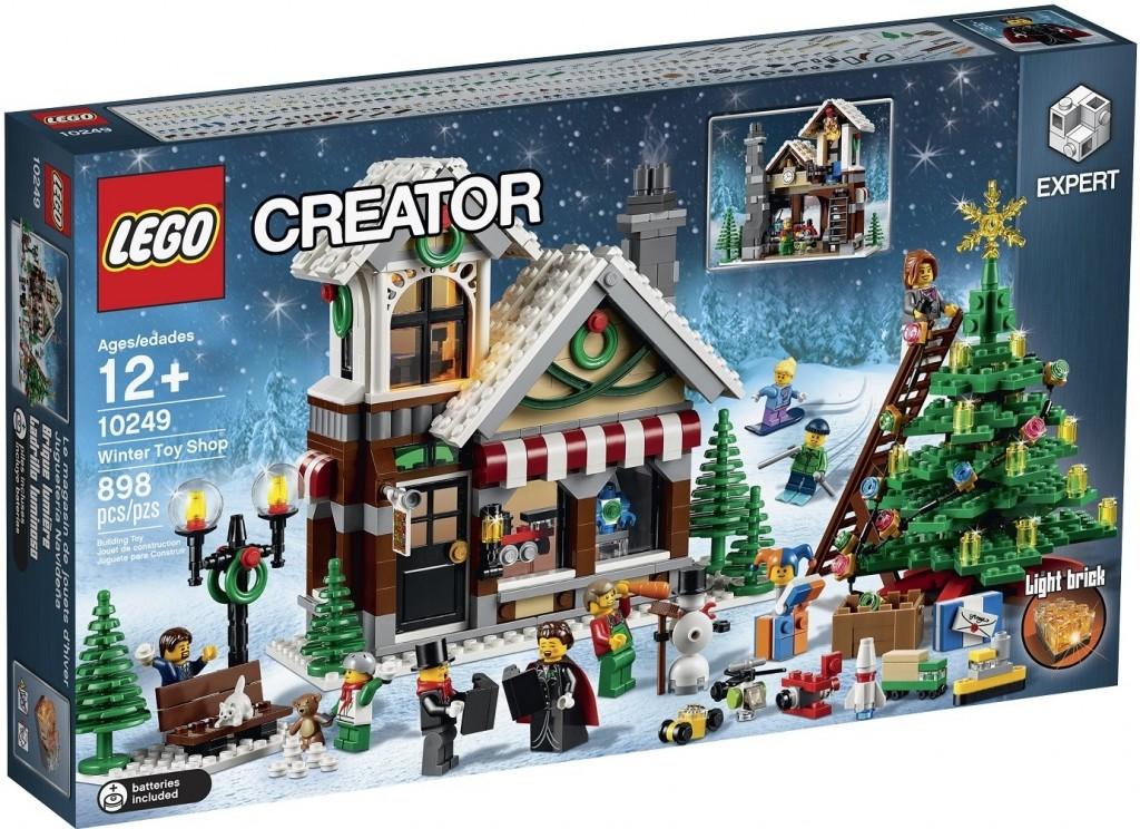 139de4e7419 LEGO Creator 10249 Zimní obchod z hračkami od 104
