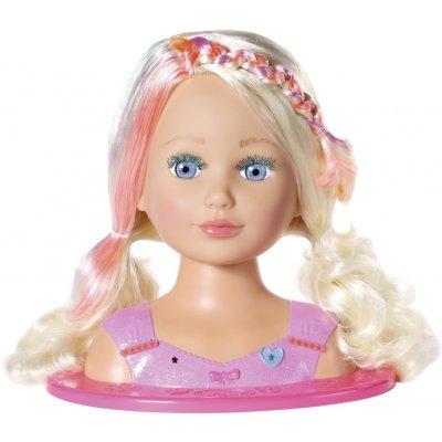 Zapf Creation Staršie sestrička BABY born Česacia hlava s farebnými kriedami