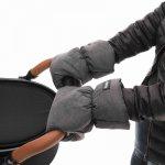 ZOPA zimné rukavice sivé