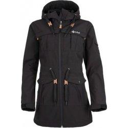 Kilpi Dámsky jarný softshellový kabát LASIKA čierny od 64 3d91961653a