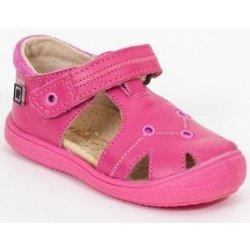 e546fbb7a569 RAK Dievčenské kožené sandále Passion ružové od 25