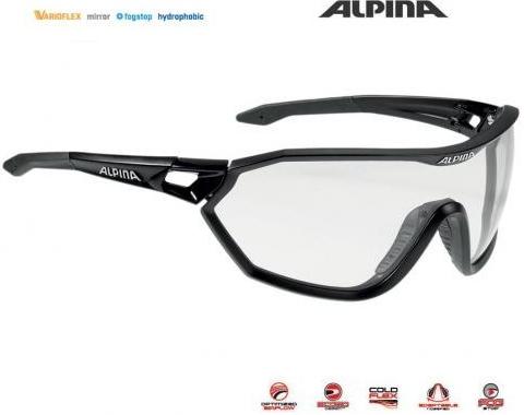 Cyklistické okuliare Alpina - Heureka.sk f7dc44999bd