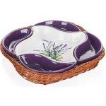 Banquet Misa v košíku Lavender 28cm 5 dielov 601512