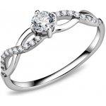 iSperky Prsteň Oceľový prsteň s očkom 156884 76b0364e0b2