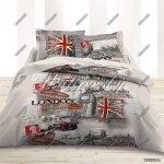 Matějovský obliečky London City Fototlač 140x200 70x90