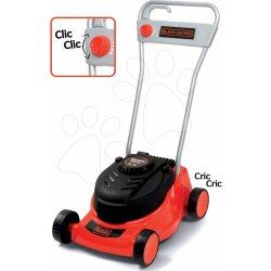 7d6be5735b057 Smoby detská kosačka na trávu Black&Decker s mechanickým zvukom od ...