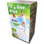 Fit and line drink Aloe Vera vlákninový nápoj 16 vreciek