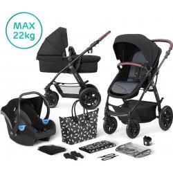 kocik Kinderkraft kombinovaný 3v1 XMOOV Black 2020