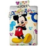 Jerry Fabrics obliečky Mickey colours bavlna 140x200 70x90