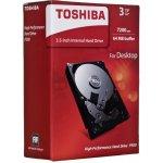 "TOSHIBA P300 3TB, 3,5"", SATAIII, 7200rpm, HDWD130EZSTA"
