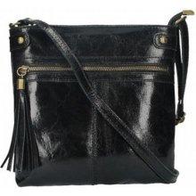 483b9f63913e Made In Italy dámska kožená kabelka 727 čierna