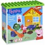 PlayBIG Bloxx Peppa Pig v záhradke