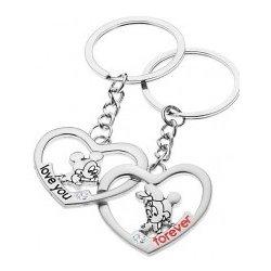 6c5647636 Prívesok na kľúče pre dvojicu Mickey a Minnie v srdciach S27.29 ...