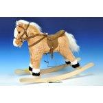 WIKY Kôň hojdacia plyš 60 cm na batérie so zvukom