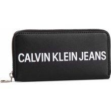 5ed5d55cd Calvin Klein Veľká Peňaženka Dámska jeans Sculpted Logo Large Zip Around  K60K605266 001