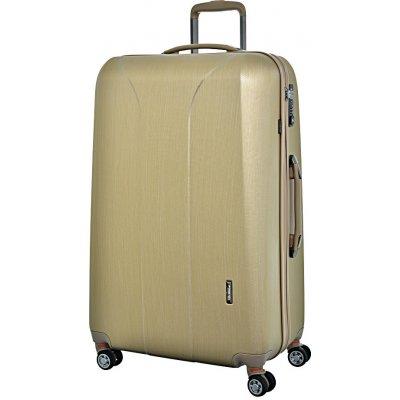 cestovny kufor March Skořepinový kufr New Carat SE L zlatá 105 l