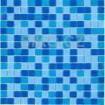 MOZAIKA Mix modrá 2x2cm