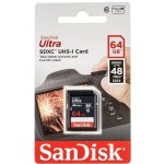 SanDisk SDXC 64GB UHS-I U1 SDUNB-064G-GN3IN
